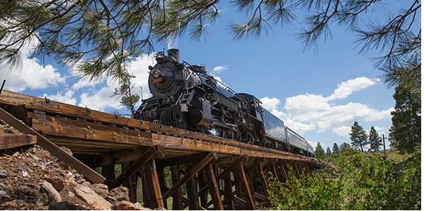 Grand Canyon train
